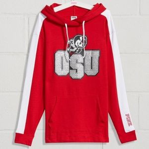 PINK Victoria's Secret Bling Ohio State Pullover